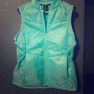 Mint green Nike running vest